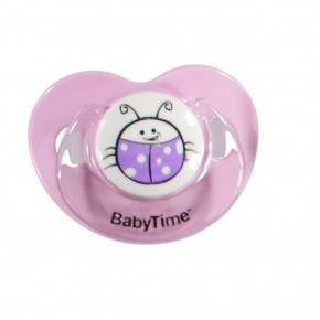 Baby Time BT138 Silikon Damaklı Emzik No2 - Mor