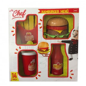Mgs Oyuncak 3809 Mr.Chef Hamburger Seti